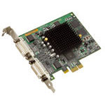 Carte graphique Dual-Display 32 Mo sur port PCI Express (2 sorties DVI)