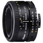 Nikon AF 50mm f/1.8 D - Objectif standard ultra-compact