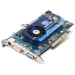 Sapphire Radeon HD 2600 XT - 512 Mo TV-Out/DVI - AGP (ATI Radeon HD 2600 XT)