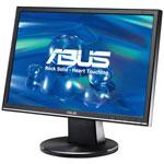 """ASUS 19"""" LCD - VW195S - 5 ms - Multimédia - Format large 16/10 (garantie constructeur 3 ans)"""