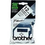 Brother MK231BZ - Ruban 12 mm noir/blanc - 8 m