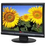 "Yuraku 17"" LCD - Yur.Vision YV17WB2 - 8 ms - Multimédia - Format large 16/9 - Noir"