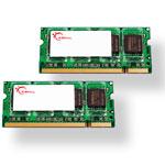 G.Skill SODIMM 4 Go (kit 2x 2 Go) DDR2-SDRAM PC2-5300 - F2-5300CL5D-4GBSA (garantie 10 ans par G.Skill)