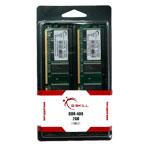 G.Skill NT Series 2 Go (kit 2x 1 Go) DDR-SDRAM PC-3200 - F1-3200PHU2-2GBNT (garantie 10 ans par G.Skill)