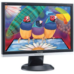 """ViewSonic 20"""" LCD - VA2026w - 5 ms - Format large 16/10 (garantie constructeur 3 ans sur site)"""