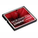 Kingston CompactFlash 16 Go Ultimate 266X (garantie 10 ans par Kingston)