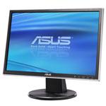 """ASUS 19"""" LCD - VW193D-B - 5 ms - Format large 16/10 (garantie constructeur 3 ans)"""