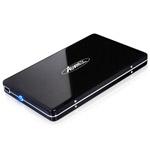 Boitier externe USB 2.0 pour disque dur 2.5'' SATA (noir)