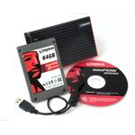 "Kingston SSDNow V-Series Notebook Kit - SSD 64 Go 2.5"" Serial ATA II"