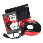 "Kingston SSDNow V-Series Notebook Kit - SSD 128 Go 2.5"" Serial ATA II"