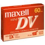 Maxell DVM 60 - Cassette MiniDV 60 minutes