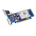 ASUS EN8400GS/P/512M - 512 Mo DVI - PCI Express (NVIDIA GeForce 8400 GS) - (garantie 3 ans)