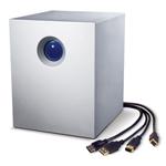 Système de stockage RAID professionnel haute performance 4 disques sur ports eSATA/USB 2.0/FireWire 400/800 (garantie LaCie 5 ans)