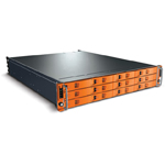 LaCie 12big Rack Serial 12 To (Mini SAS) - Rack de stockage professionnel à 12 disques Enterprise Class - (garantie LaCie 3 ans)