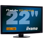 "iiyama 22"" LCD - ProLite E2210HDS-B1 - 2 ms - Format large 16/9 - Noir"