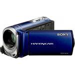Sony DCR-SX34 Bleu - Caméscope Mémoire flash 4 Go