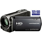 Sony HDR-CX155 Noir - Caméscope Full HD Mémoire flash 16 Go