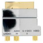 Thomson KD2129 - Adaptateur S-Vidéo & RCA / Péritel plaqué or