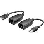 Emetteur + récepteur USB sur réseau Ethernet (RJ45)
