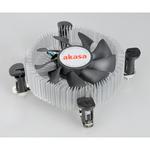 Akasa AK-CCE-7106HP - ventilateur de processeur Low Profile (pour Socket 775/1150/1151/1155//1156)