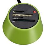 Heden LECMEMROCV - Lecteur de cartes mémoire 30 en 1 - USB - Vert