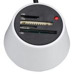 Heden LECMEMROCW - Lecteur de cartes mémoire 30 en 1 - USB - Blanc