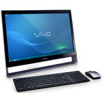 "Sony VAIO VPCL12S1E/S - Intel Core 2 Duo E8400 4 Go 1 To NVIDIA GeForce GT 240M 1 Go LCD 24"" Tactile Combo Lecteur Blu-ray/Graveur DVD Wi-Fi N/Bluetooth Windows 7 Premium 64 bits"