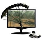"""ViewSonic 22"""" LCD - VX2268wm - 2 ms (gris à gris) 3D Ready + Kit NVIDIA GeForce 3D Vision"""