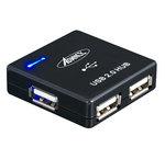 Advance HUB-400B - Hub 4 ports USB 2.0 - Noir