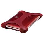 Iomega eGo 3.0 Portable Hard Drive 1 To Rouge USB 3.0 - Trend Micro Internet Security : 1 an gratuit (garantie constructeur 3 ans)