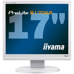 """iiyama 17"""" LCD - ProLite B1706S-W1 - 5 ms - Pivot - Blanc"""