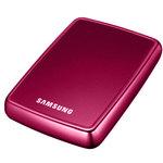 """Samsung S2 Portable - Disque dur externe 2 """"1/2 320 Go - Coloris rose (USB 2.0)"""