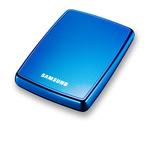 """Samsung S2 Portable 1 To Bleu - Disque dur externe 2 """"1/2 1 To bleu (USB 2.0)"""