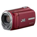 JVC GZ-MS216 Rouge - Caméscope carte mémoire avec SD 4 Go et Batterie supplémentaire BN-VG107UE