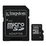 Kingston microSD 32 Go High Capacity Class 4 + adaptateur SD (garantie 10 ans par Kingston)