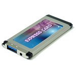 Carte contrôleur ExpressCard avec 1 port USB 3.0 (chipset NEC)