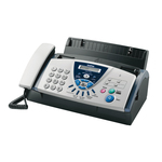 Brother FAX-T106 - Téléphone-fax à Transfert Thermique avec répondeur