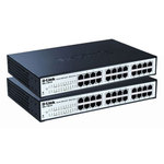 D-Link 2x DGS-1100-24 - 2 Switches administrables Gigabit 24 ports 10/100/1000 Mbps