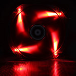 BitFenix Spectre LED 230 mm Rouge - Ventilateur LED 230 mm