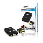 Adaptateur DVI/VGA sur port USB