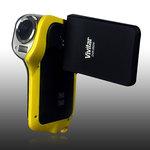 Vivitar DVR 850WHD jaune - Caméscope numérique HD carte mémoire étanche