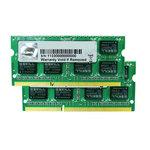 G.Skill SODIMM 8 Go (kit 2x 4 Go) DDR3-SDRAM PC3-12800 - F3-12800CL9D-8GBSQ (garantie 10 ans par G.Skill)