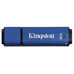 Kingston DataTraveler Vault Privacy Managed 8 Go - USB 2.0 (garantie constructeur 5 ans)