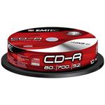 EMTEC CD-R 700 Mo certifié 52x (pack de 10, spindle)