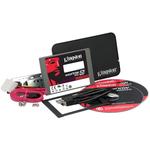 """SSD 64 Go 2.5"""" 7mm Serial ATA 6Gb/s avec Kit pour PC de bureau et PC Portable"""