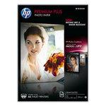 HP Papier Photo Premium Plus A4, papier semi-glacé (20 feuilles)