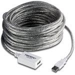 Cable rallonge USB 2.0 de 12 m avec amplificateur et répéteur