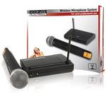 Microphone sans fil avec récepteur 1 canal