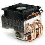 Ventilateur pour processeur (pour socket Intel 775/1150/1151/1155/1156/1366/2011 et AMD 754/939/940/AM2/AM2+/AM3/AM3+/FM1)