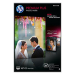 Papier Photo Premium Plus à finition brillante 10 x 15 cm - 50 feuilles